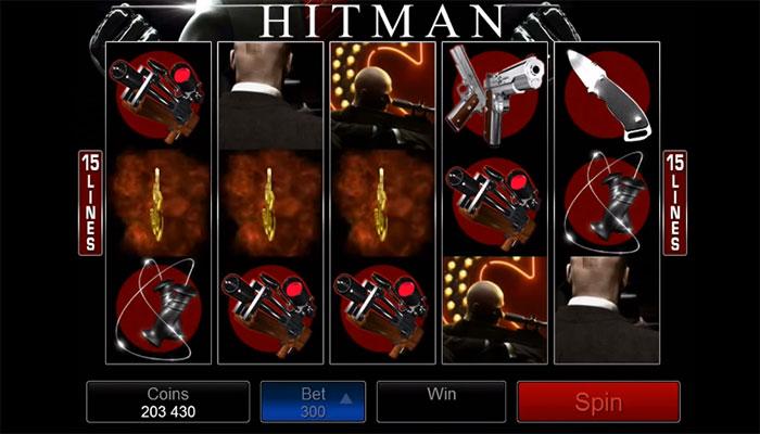 Hitman film slots