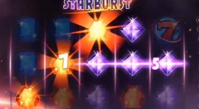Starburst freespins slot