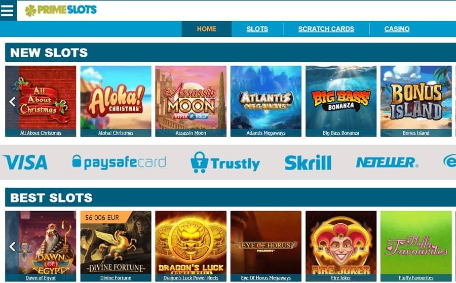 Prime Slots Casino Recension